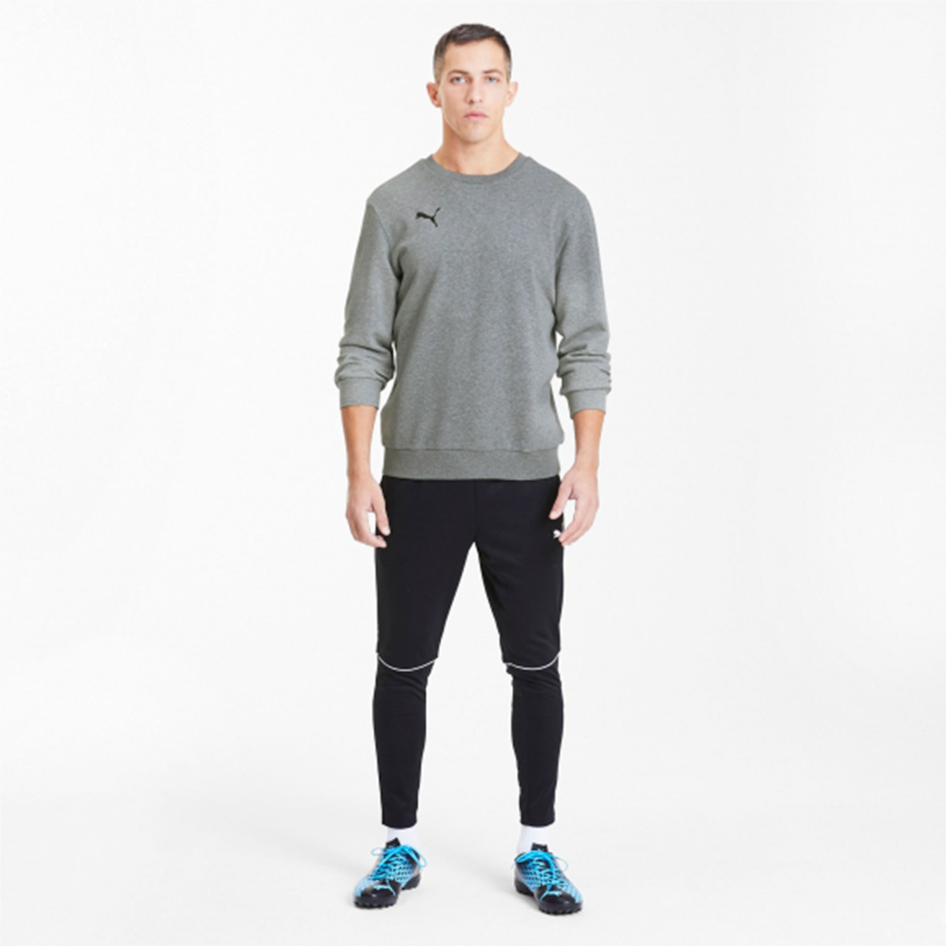 Толстовка хб Puma teamGOAL 23 Casuals Crew Neck Sweat