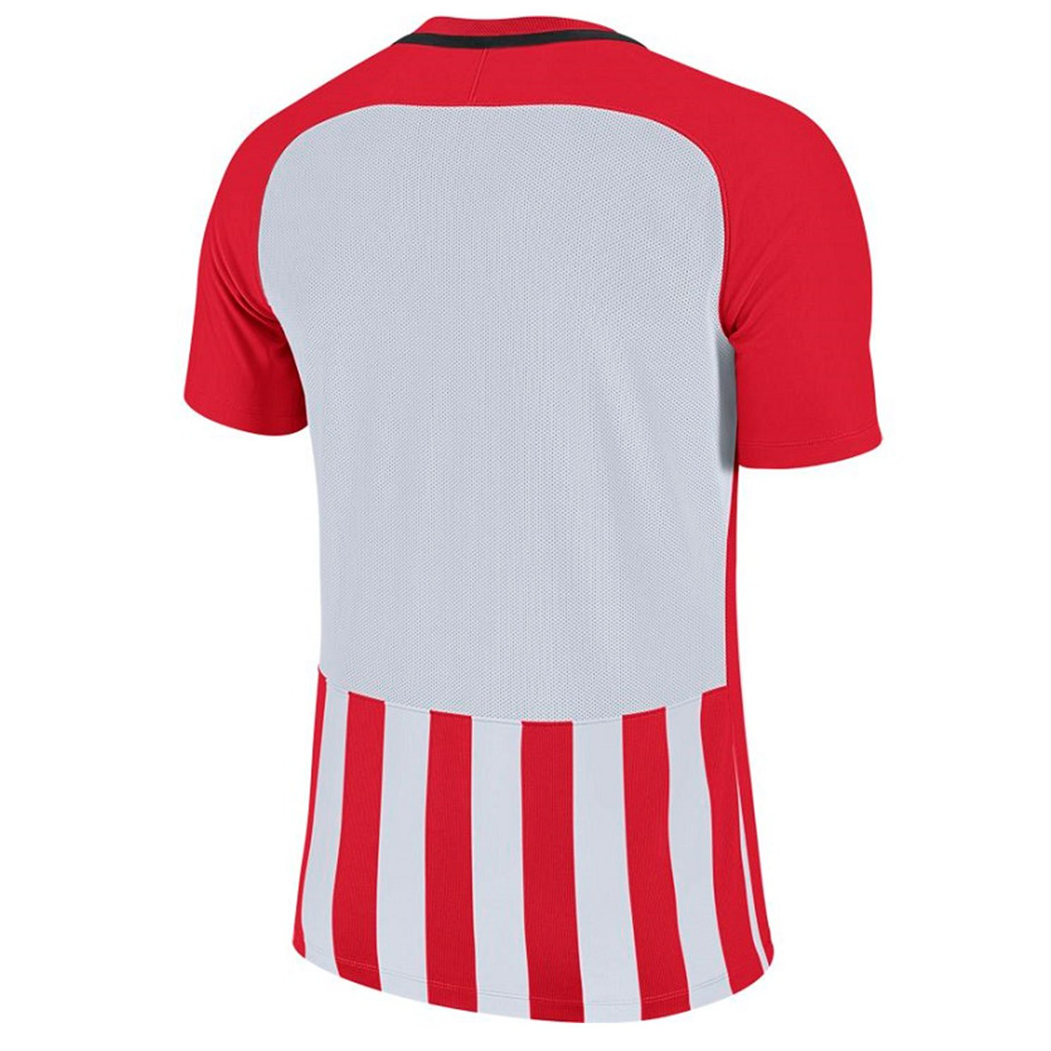Футболка Men's Nike Striped Division III Football Jersey (белый, красный)