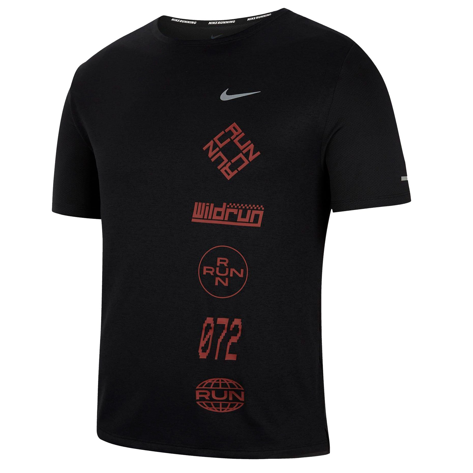 Футболка Nike Dri-FIT Miler Wild Run