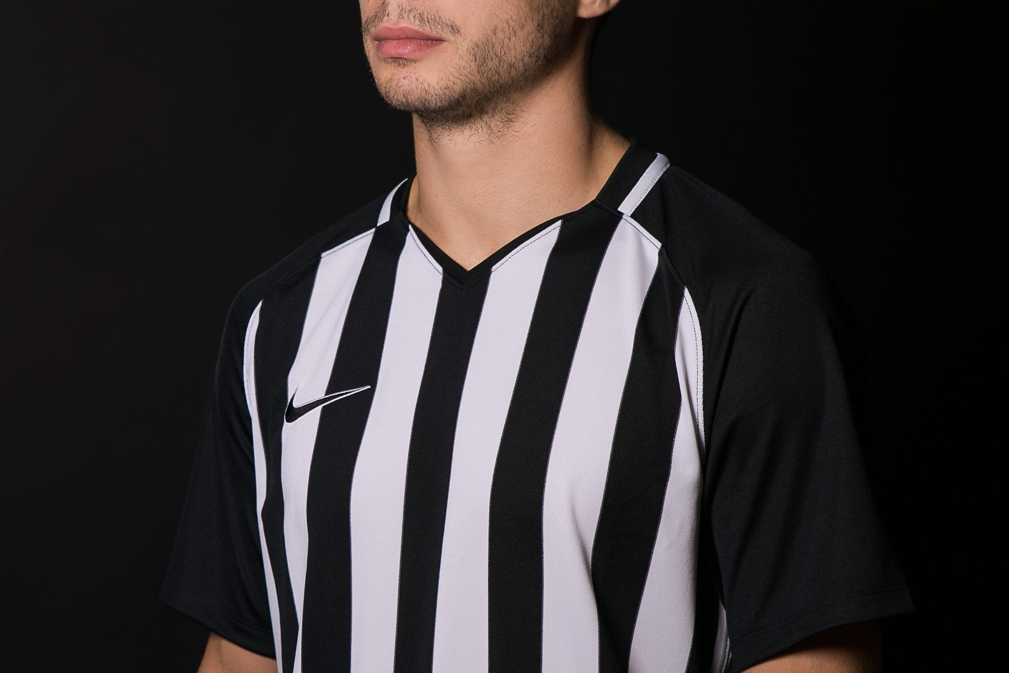 Футболка Men's Nike Striped Division III Football Jersey