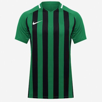 Футболка Men's Nike Striped Division III Football Jersey (зеленый, черный)
