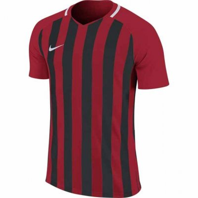 Футболка Men's Nike Striped Division III Football Jersey (красный, черный)