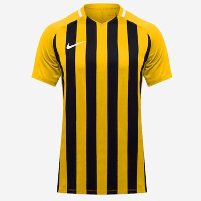 Футболка Men's Nike Striped Division III Football Jersey (желтый, черный)