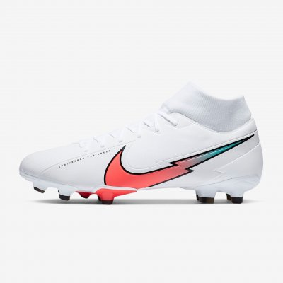 Бутсы Nike Superfly 7 Academy MG (белые)